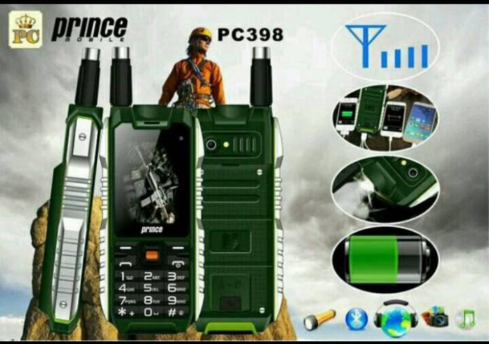 harga Hp outdoor murah prince pc 398 bisa power bank 10000 mah original Tokopedia.com