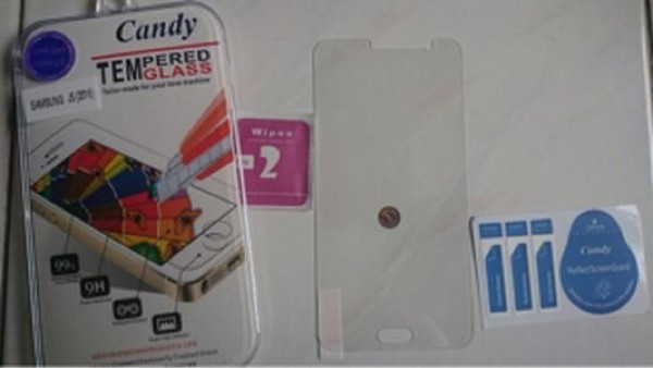 Candy Tempered Glass High Quality For Infinix Hot Note 2 - Clear 0.26m