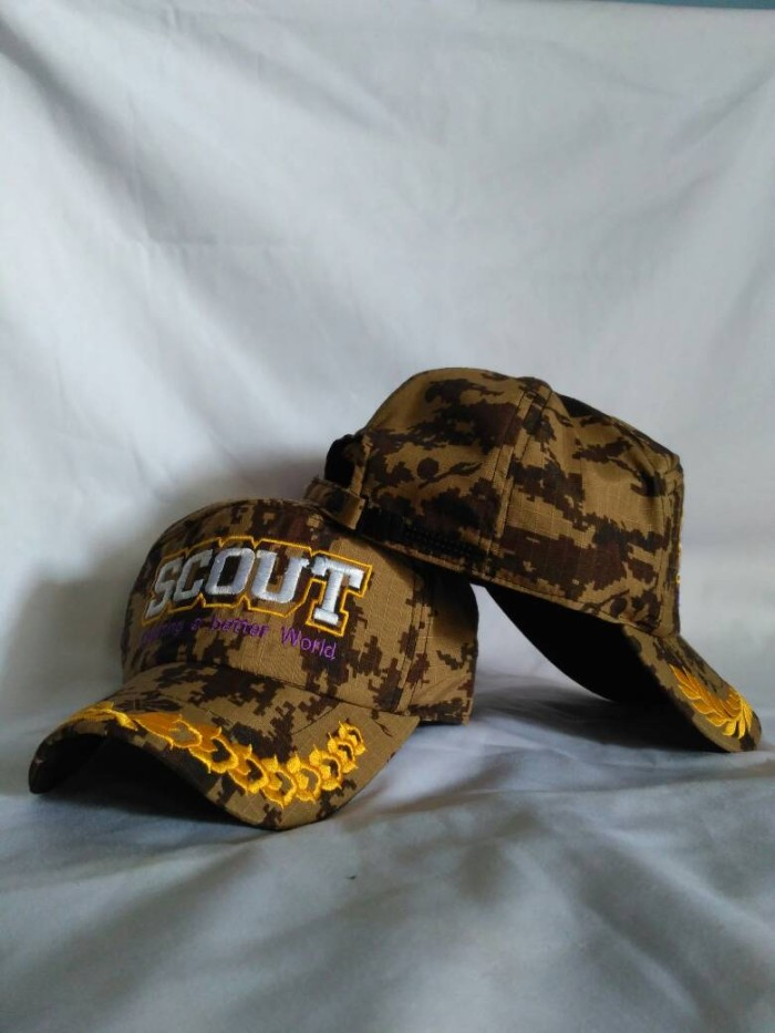 Jual Topi pramuka(scout beter loreng) - house topi pramuka  6a114c05a1