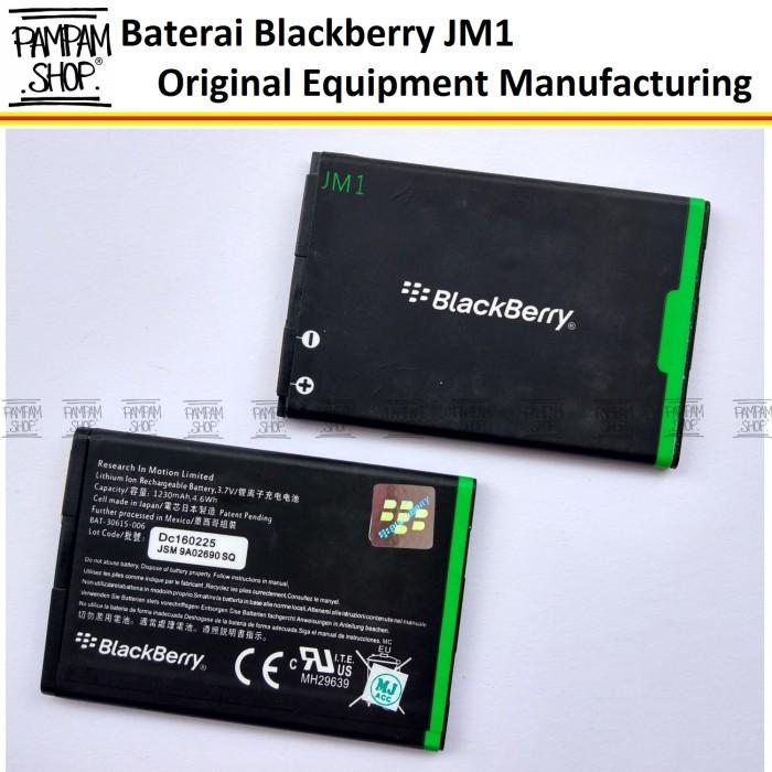 harga Baterai blackberry jm1 bb monza torch 9860 original oem | batre batrai Tokopedia.com