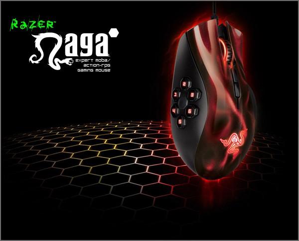 0a97e4b5eed Jual Razer Naga Hex - Moba / Action - RPG (Red) Gaming mouse - DKI ...