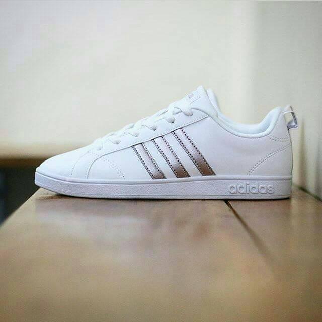 ab4190b19ad6 Jual ADIDAS NEO ADVANTAGE CLEAN WHITE ROSE GOLD - DKI Jakarta ...