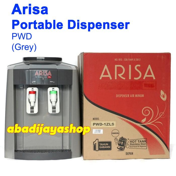 harga Water dispenser arisa portable pwd grey (garansi resmi) Tokopedia.com