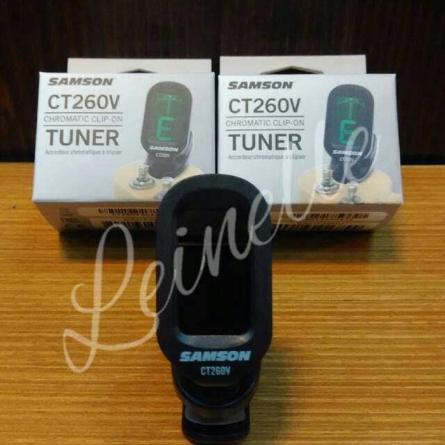 harga Clip-on tuner samson ct260v Tokopedia.com