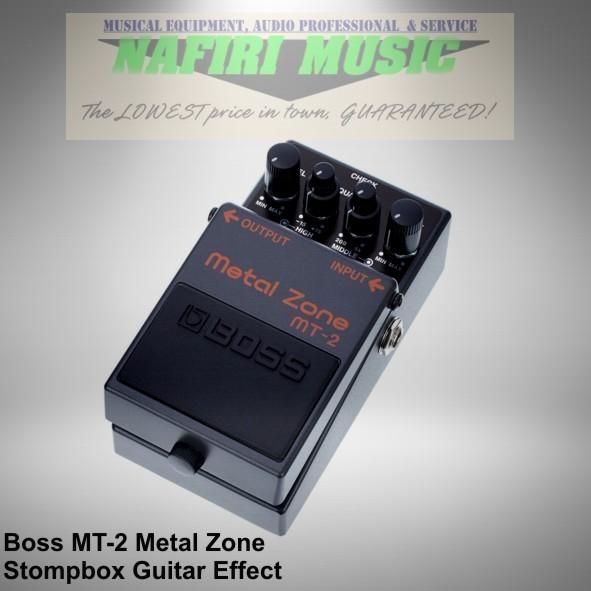 harga Efek gitar boss mt-2 / boss mt2 / boss mt 2 / boss metal zone baru Tokopedia.com