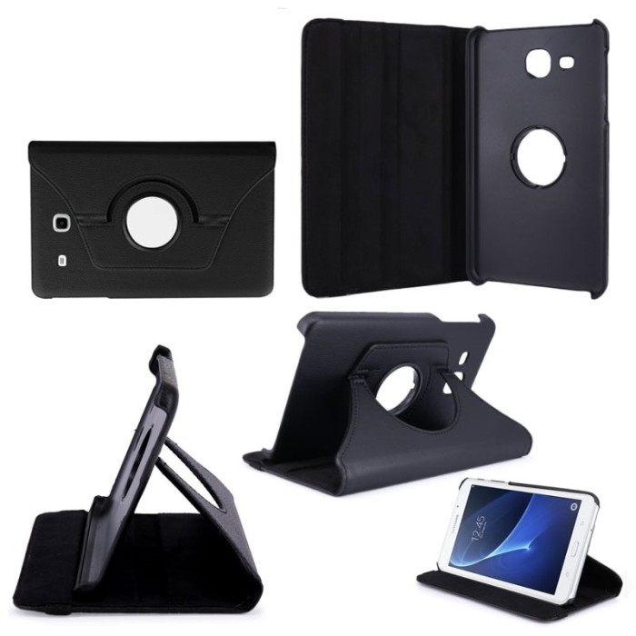 Leather Flip Case Cover Casing Samsung Galaxy Tab A T280 T285 7.0 Inch
