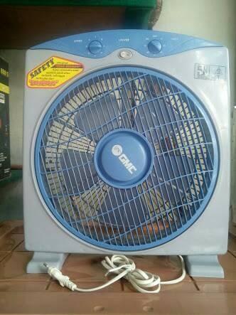 GMC 709 Box Fan 12 inch - Kipas Angin Kotak - Meja - Duduk - Lantai