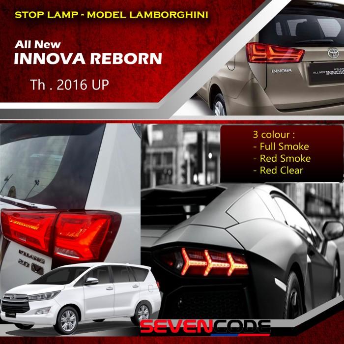 Toyota 2016 Models >> Jual Stop Lamp Toyota All New Innova Reborn 2016 Model Lamborghini Jakarta Pusat Cv Alvin Auto Parts Tokopedia