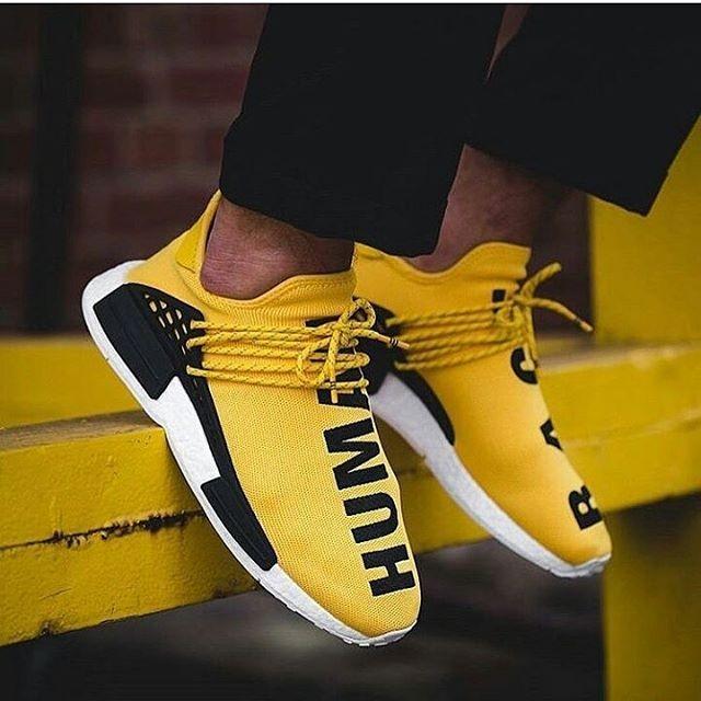cd6929655 Adidas Nmd X Pharell William Human Race Yellow Premium Original7