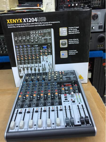 harga Audio mixer behringer xenyx x1204usb (garansi 1thn) Tokopedia.com
