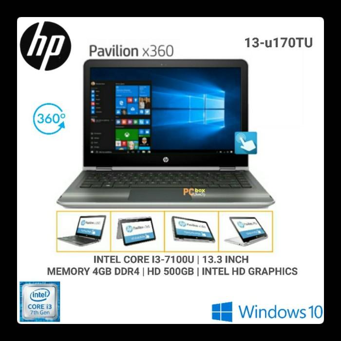 HP Pavilion x360 13-u170TU Core i3-7100U Windows 10