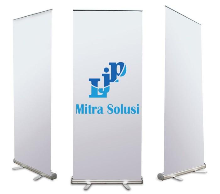 Foto Produk Roll up Banner 85cmx200cm Flexi 340gr dari LJP Mitra Solusi
