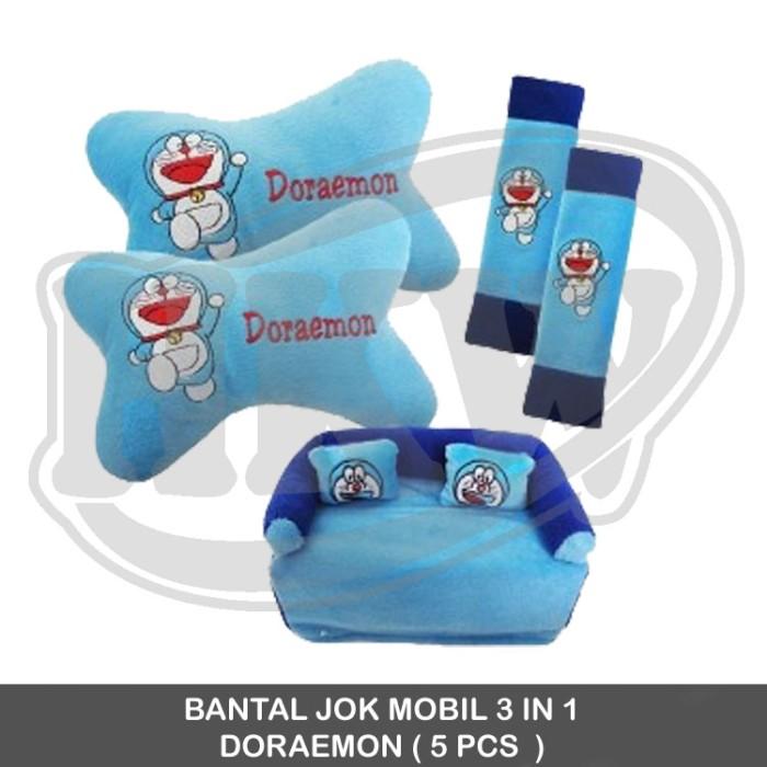 BANTAL JOK MOBIL 3 IN 1 DORAEMON