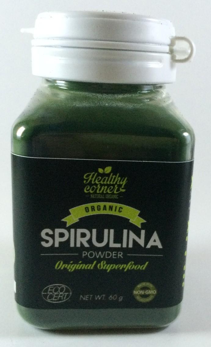 harga Healthy corner - organic spirulina powder (60 gr) Tokopedia.com