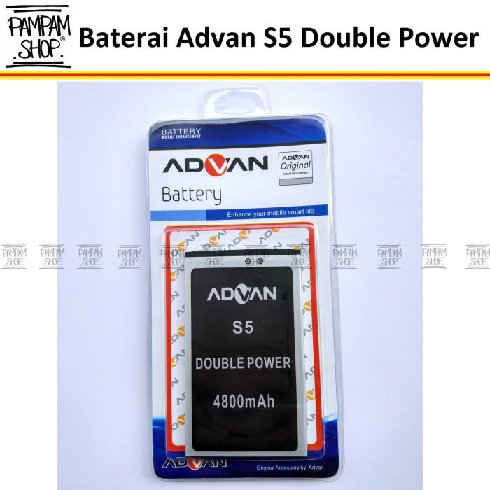 harga Baterai handphone advan s5 original double power   batre advance s 5 Tokopedia.com