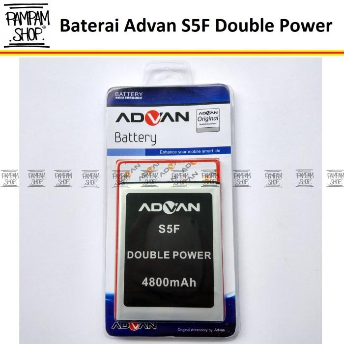 harga Baterai handphone advan s5f double power | batre batrai original