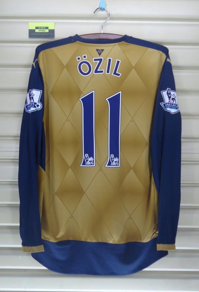 harga Arsenal 2015-16 away long sleeve. bnwt. ozil. original jersey Tokopedia.com