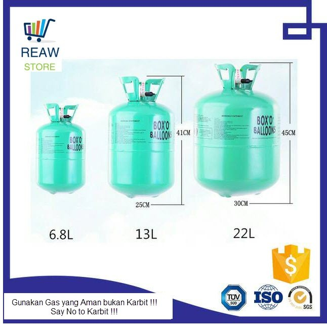 harga Tabung gas helium 6.8 liter Tokopedia.com