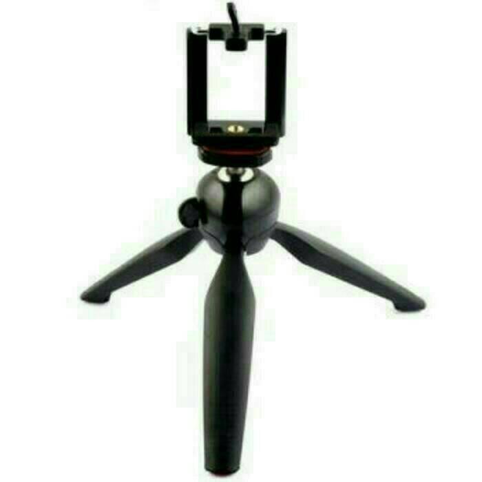harga Mini tripot handphone tripod hp portable yunteng kokoh plus holder Tokopedia.com