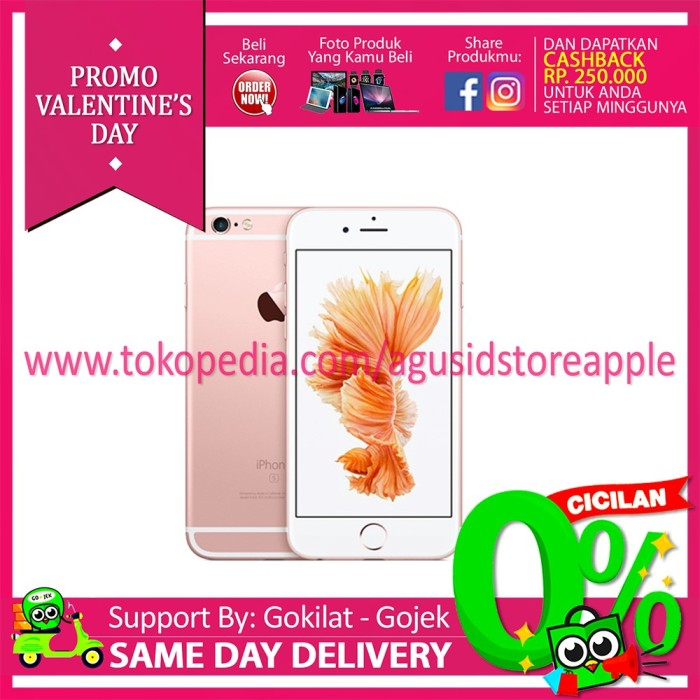 harga [best Seller]iphone 6s Plus 16gb Rosegold Garansi Resmi Apple 1 Tahun Tokopedia.com