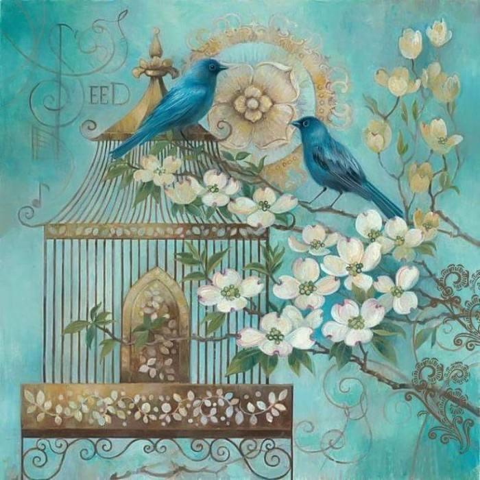 harga Repro lukisan klasik burung birds 1set 2 gambar hoki keberuntungan Tokopedia.com