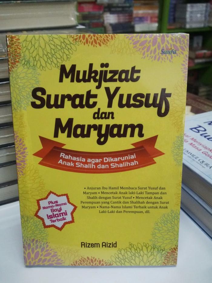 Jual Mukjizat Surat Yusuf Dan Maryam Kota Depok Toki Toki Olshop Tokopedia