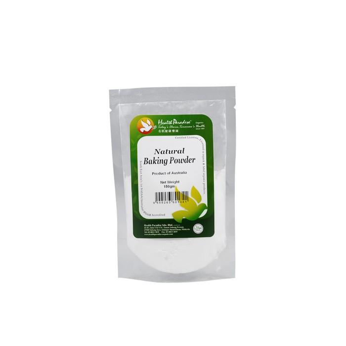 Health Paradise Natural Baking Powder 150 Gr