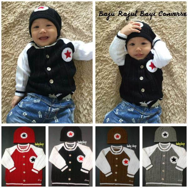 55 Gambar Baju Bayi Converse Terlihat Keren