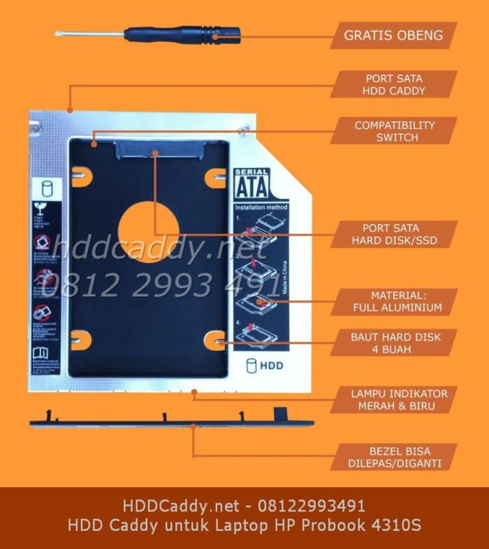 Katalog Hdd Caddy Untuk Hp Travelbon.com
