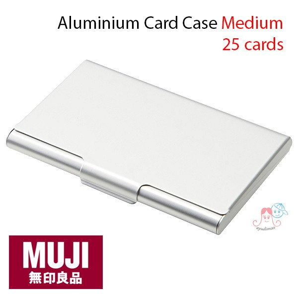 Jual Muji Aluminium Card Case Medium / tempat kartu / Card Holder ...