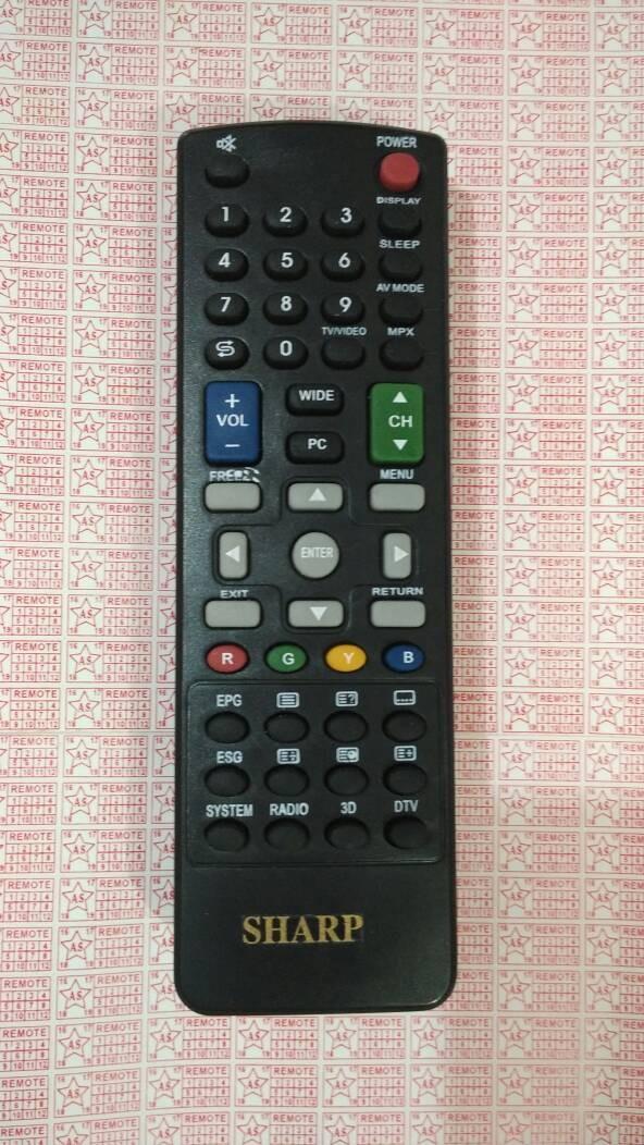 harga Remote tv sharp lcd led Tokopedia.com