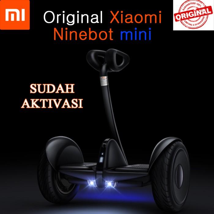 harga Xiaomi ninebot mini self balancing scooter / mini segway - hitam Tokopedia.com