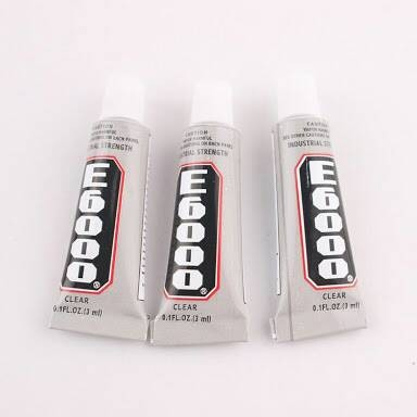 Jual lem e6000 super glue e 60000 power glue bahan craft lem epoxy glue -  Jakarta Barat - Wimpy Clay | Tokopedia