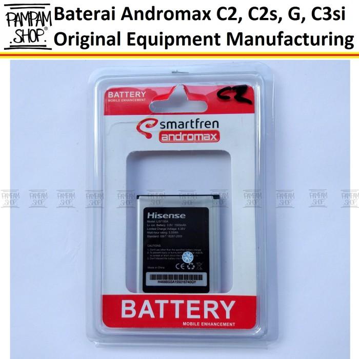 harga Baterai handphone smartfren andromax c2 original oem   batre batrai Tokopedia.com