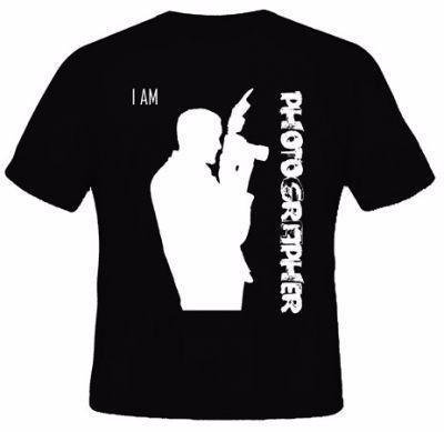 [L&P] Kaos /T-Shirt Iam photografer