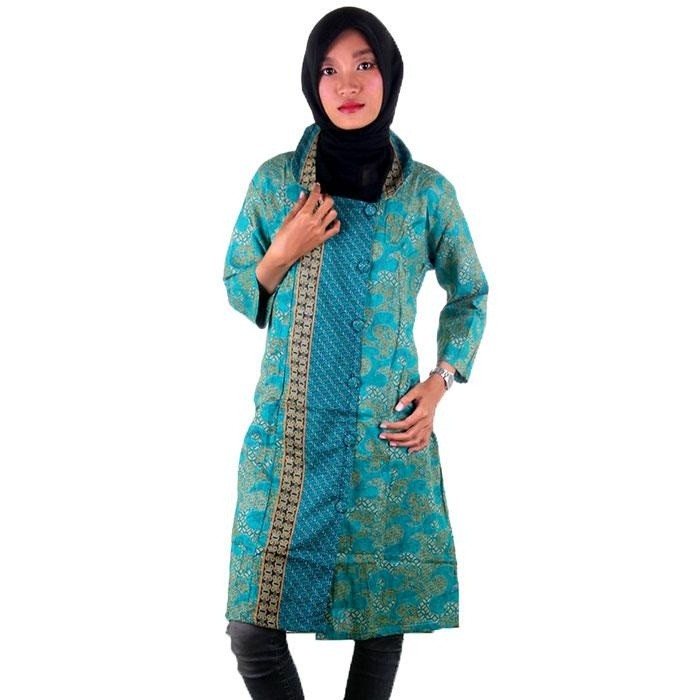 harga Blus batik i tunik batik | blus tunik i blouse tunik nayya - warna 4 Tokopedia.com