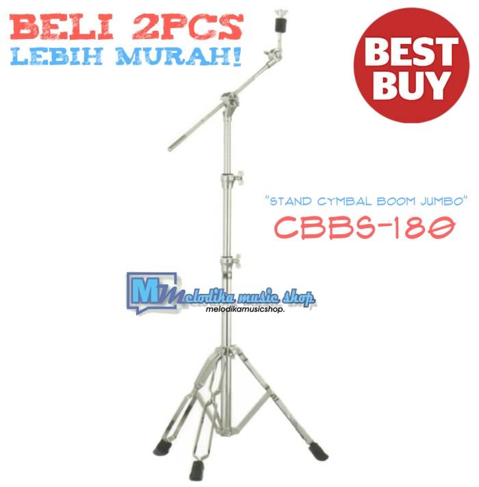 harga Termurah!! cymbal boom stand / stand cymbal boom jumbo cbbs-180 Tokopedia.com