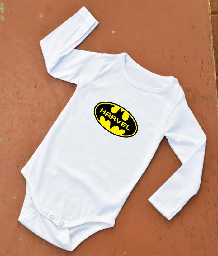 harga Baju bayi - baby jumper suit/ custom design / batman logo Tokopedia.com