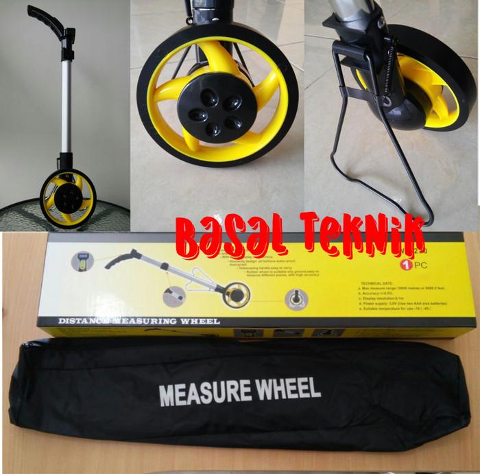 harga Digital measuring wheel - meteran dorong digital 1 roda Tokopedia.com