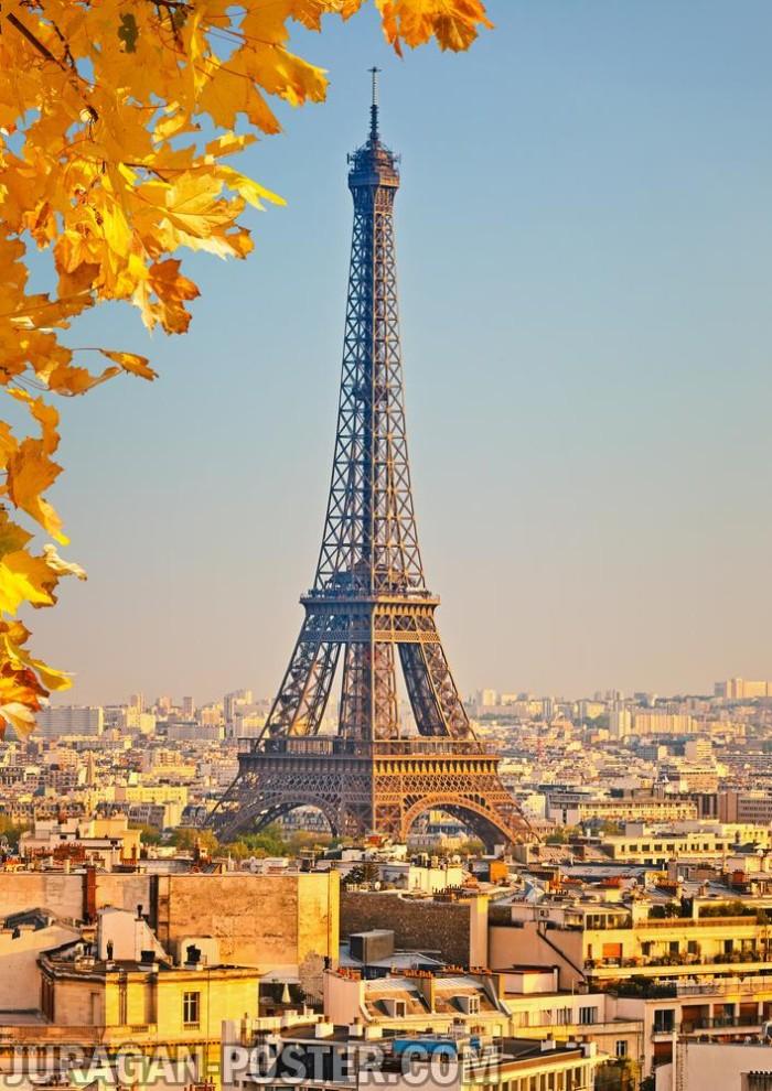 Jual poster gambar pemandangan menara eiffel paris 051 murah poster gambar pemandangan menara eiffel paris 051 murah 60x84cm thecheapjerseys Images