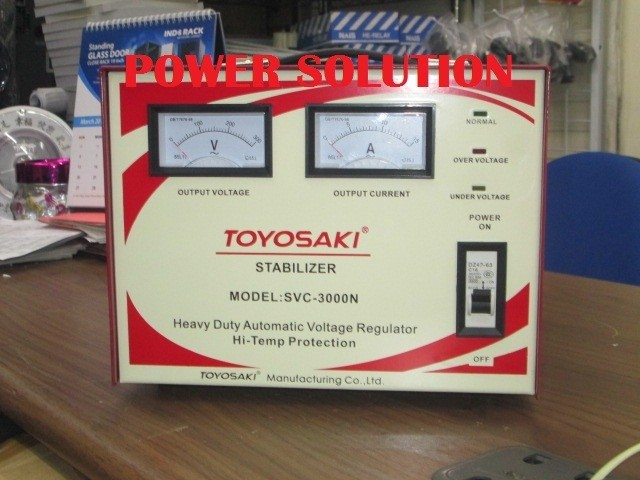 harga Stabilizer toyosaki svc3000n stabilizer toyosaki 3000va Tokopedia.com