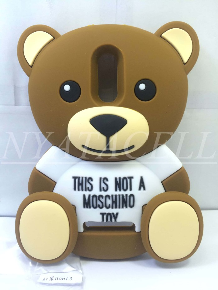 harga Case 4d teddy bear all type /karakter/3d/rubber/boneka/moschino/soft Tokopedia.com
