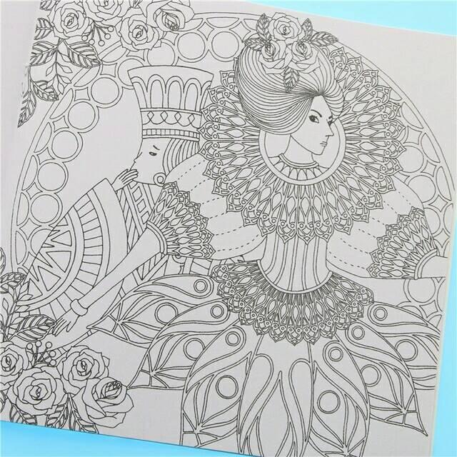 Fantasy Dream Buku Gambar Coloring Book Anti Stress Mewarnai