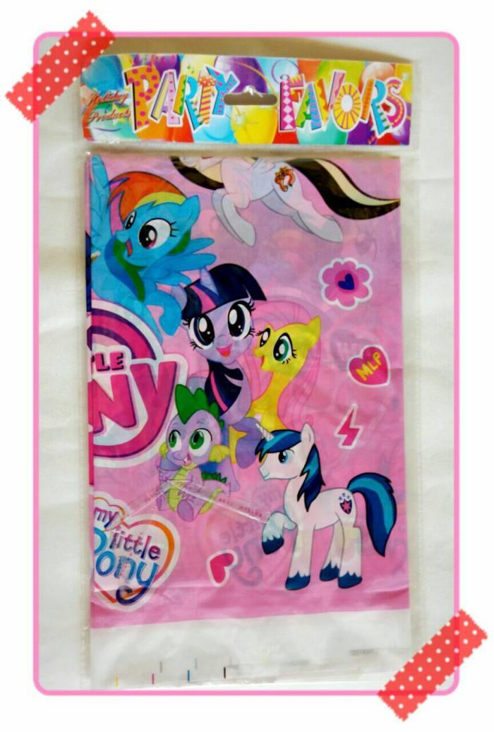 Jual Table Cover Taplak Meja Ulang Tahun Karakter My Little Pony Kota Bekasi Recht Shop Tokopedia