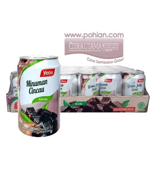harga Yeos grass jelly 300ml/24s Tokopedia.com