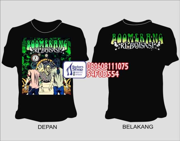 harga Kaos boomerang reboisasi cover album model 1 Tokopedia.com