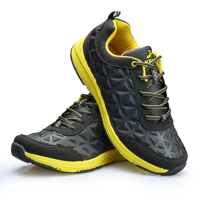 harga Sepatu olahraga keta 186 grey yellow - outdoor/running/olahraga Tokopedia.com
