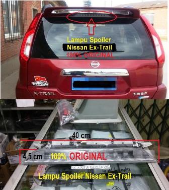 harga Lampu spoiler belakang original nissan ex-trail extrail Tokopedia.com