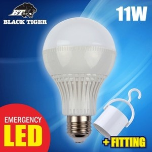 harga Black tiger led warm white lampu bohlam emergency [11 watt] Tokopedia.com