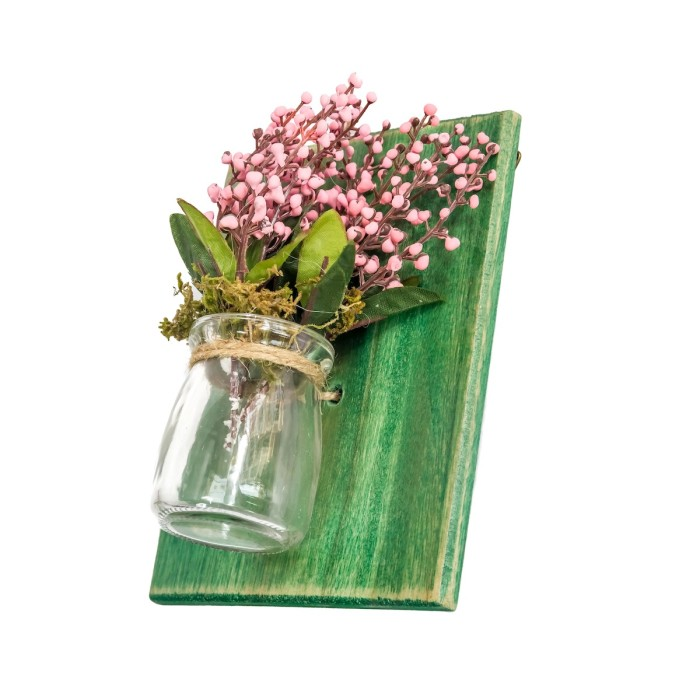 harga Tiom Hijau | Pajangan Gantung Dinding Vas Kaca Vintage Dekor Interior Tokopedia.com